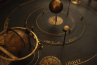 Orrery scale of the galaxy.