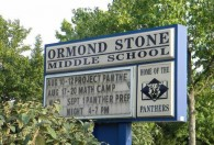 Stone Middle School in Fairfax County.
