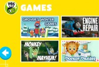 PBS Kids Game area