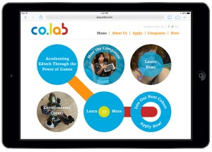 The co.lab accelerator, based at Zynga, focuses on supporting learning games.