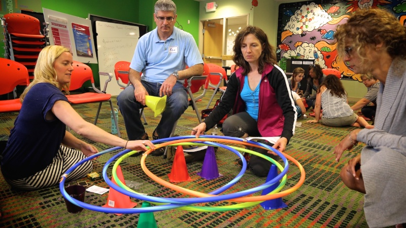 """""""We allow adults to work together and collaborate and think about their practice in ways that they haven't necessarily done before."""""""