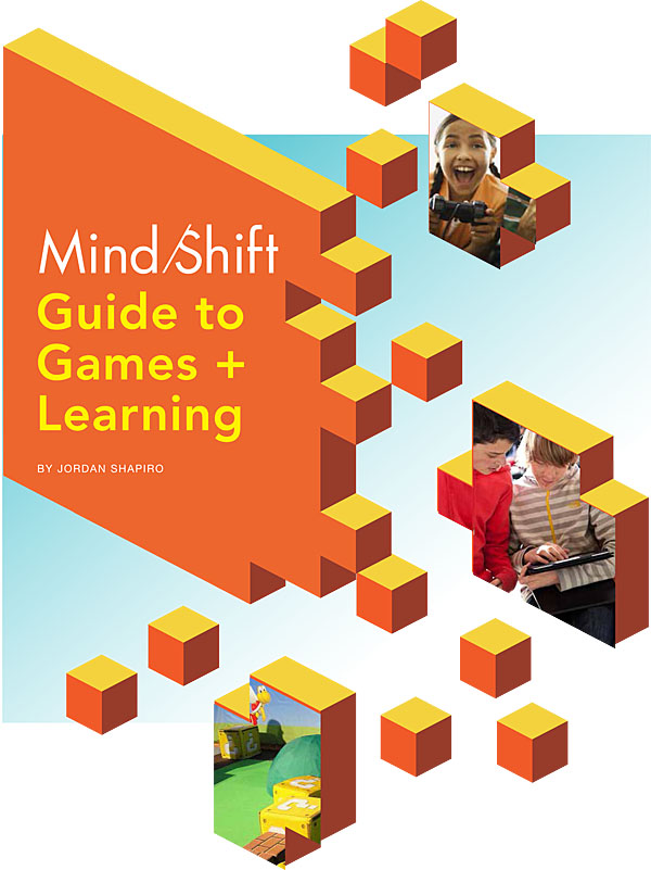 The Mindshift Guide to Games + Learning is available for free from KQED.