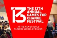Games for Change runs Thursday June 23 to Friday June 24 at the Parsons School of Design in New York City.